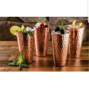 Copper Plated Tumblers